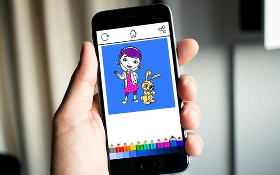 Doc Kids Coloring screenshot 2