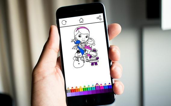 Doc Kids Coloring screenshot 4