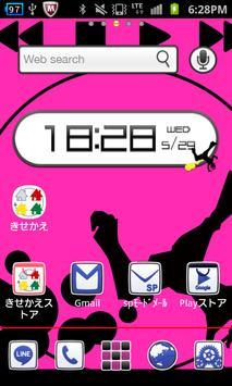 【無料】Player forきせかえランチャーPRO poster