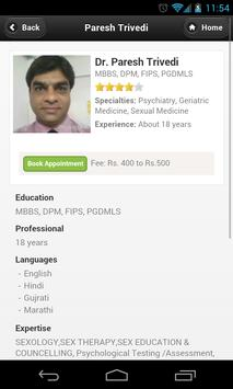 Dr Paresh Trivedi Appointments poster