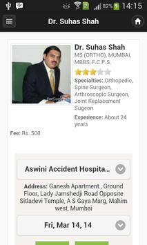 Dr Suhas Shah Appointments apk screenshot