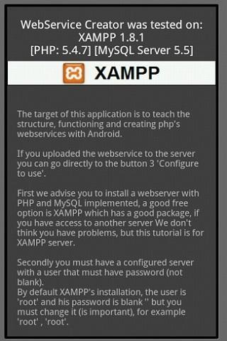PHP Web service Creator for Android - APK Download