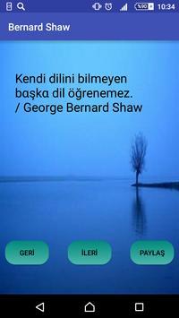 Bernard Shaw apk screenshot