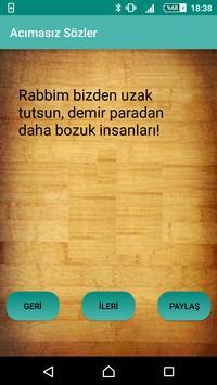Acımasız Sözler poster