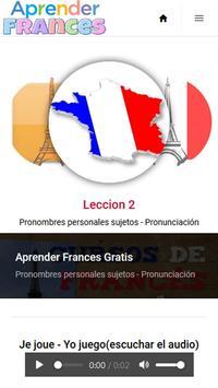 Aprender Frances Gratis screenshot 1
