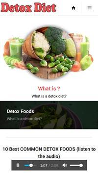 Detox Foods screenshot 1