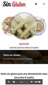 Dieta Sin Gluten para bajar de Peso screenshot 1
