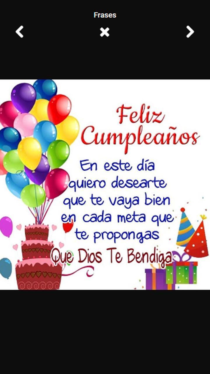 Frases Bonitas De Cumpleaños For Android Apk Download