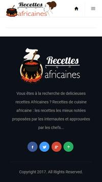 Recettes Africaines screenshot 2