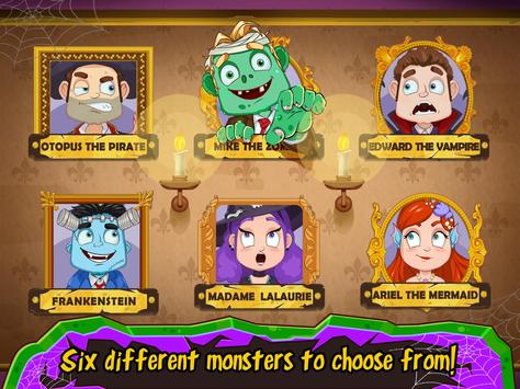 Spa Day with a Monster - Salon & Makeover Games apk screenshot