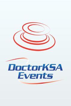 DoctorKSA Events poster