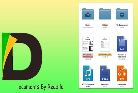 Document by Readlle Pro Reader poster