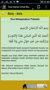 Tuntunan Doa Harian Umat Muslim apk screenshot
