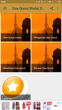 Doa Qunut Shalat Subuh Lengkap poster