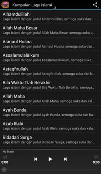Kumpulan Lagu-Lagu Islami 2017 apk screenshot