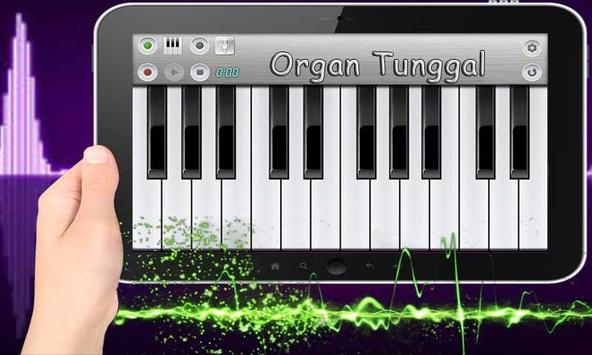 Suara Piano Organ Tunggal poster