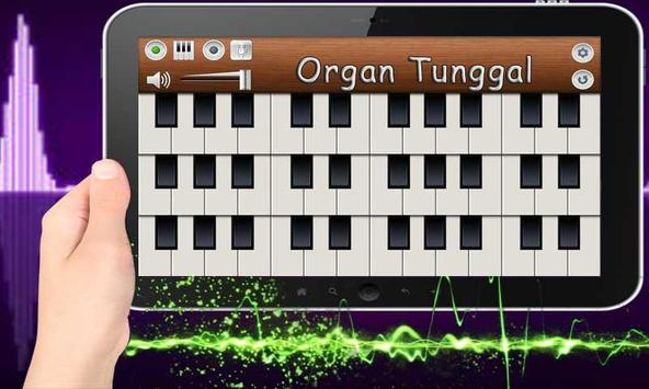 Suara Piano Organ Tunggal screenshot 1