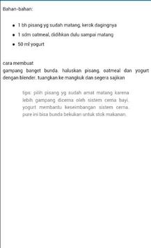 Resep Makanan Bayi Terbaru screenshot 3