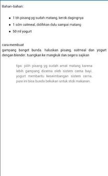 Resep Makanan Bayi Terbaru screenshot 5