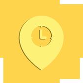 Alarm Travel icon