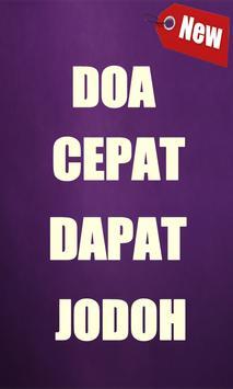 Doa Supaya Cepat Dapat Jodoh poster