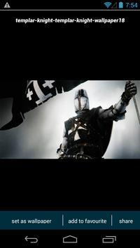Templar Knight Wallpapers screenshot 1