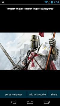 Templar Knight Wallpapers screenshot 2