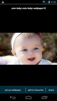 Cute Baby Wallpapers apk screenshot