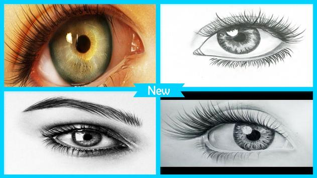 Easy Drawing Realistic Eyes poster