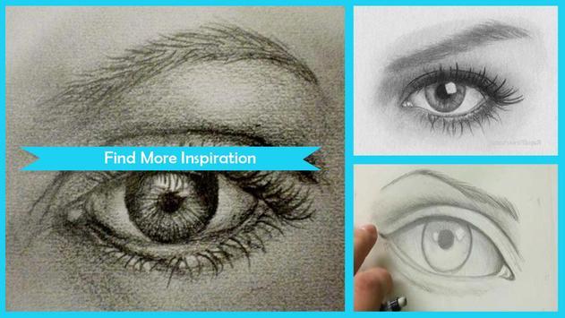 Easy Drawing Realistic Eyes screenshot 1
