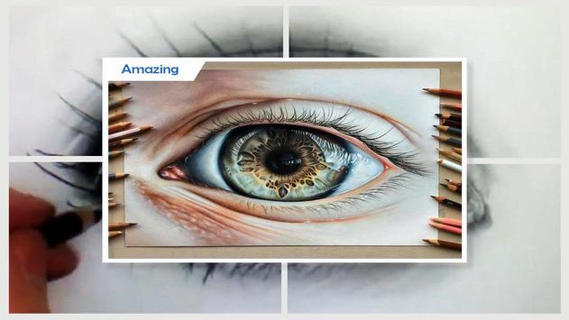 Easy Drawing Realistic Eyes screenshot 4