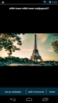 Eiffel Tower Wallpapers apk screenshot