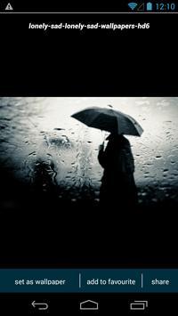 Lonely Sad Wallpapers apk screenshot