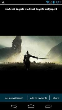 Medieval Knight Wallpapers screenshot 3