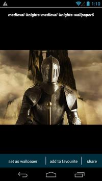 Medieval Knight Wallpapers poster