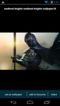 Medieval Knight Wallpapers screenshot 1
