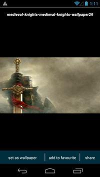 Medieval Knight Wallpapers screenshot 2