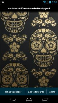 Mexican Sugar Skull Wallpapers Apk Screenshot