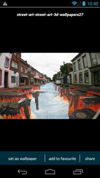 3D Street Art Wallpapers apk screenshot