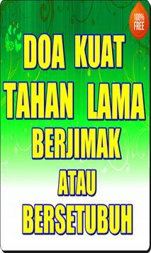Doa Kuat Tahan Lama Berjimak atau Bersetubuh poster