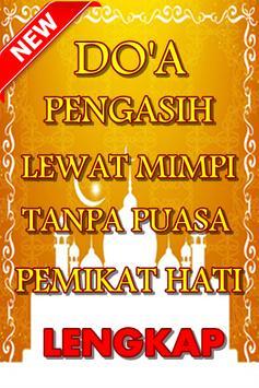Doa Pengasih Lewat Mimpi Tanpa Puasa Pemikat Hati poster