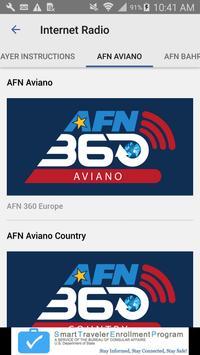 AFN Europe apk screenshot