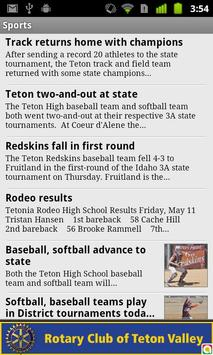 Teton Valley News apk screenshot
