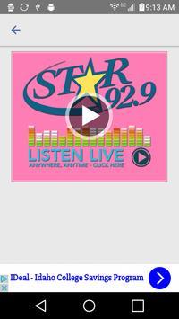 Star 92.9 apk screenshot