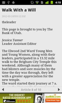 Tremonton Leader screenshot 2