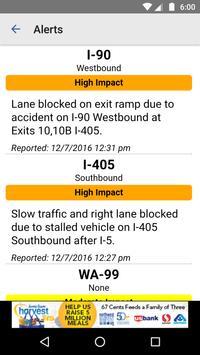 Seattle Traffic apk screenshot
