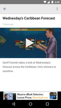 Caribbean Television Weather apk screenshot