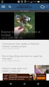 Bozeman Daily Chronicle apk screenshot