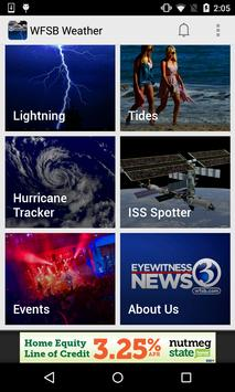 Hartford Weather Radar - WFSB3 apk screenshot