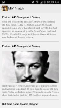 Yesteradio OTR: Old Time Radio apk screenshot
